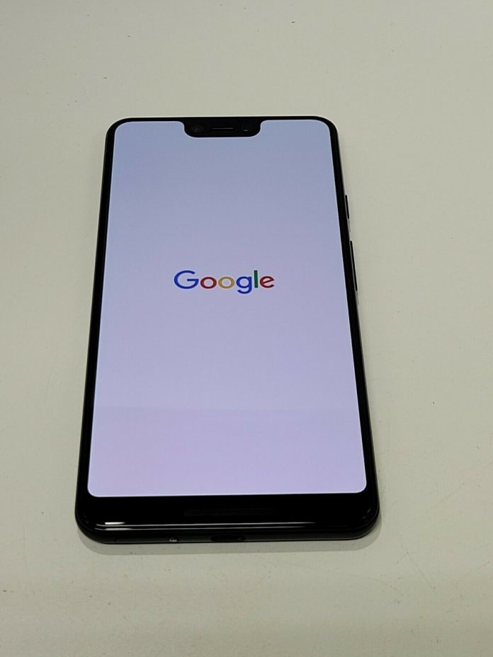 Google Pixel 3 XL – 64GB – Just Black (Unlocked) Good Condition  -SS891