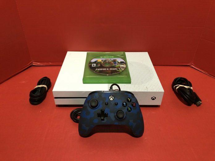 Microsoft Xbox One S 1TB Console – White  FREE SHIPPING