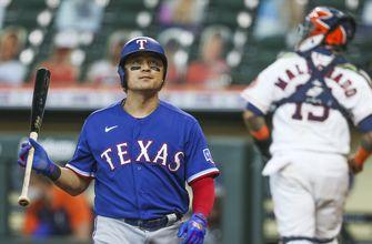 Díaz, Brantley 3 RBIs each, Astros beat Lynn, Rangers 8-4