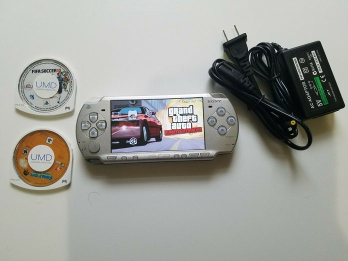 Sony Playstation Portable PSP 2001 w/ 2 games. Free ship