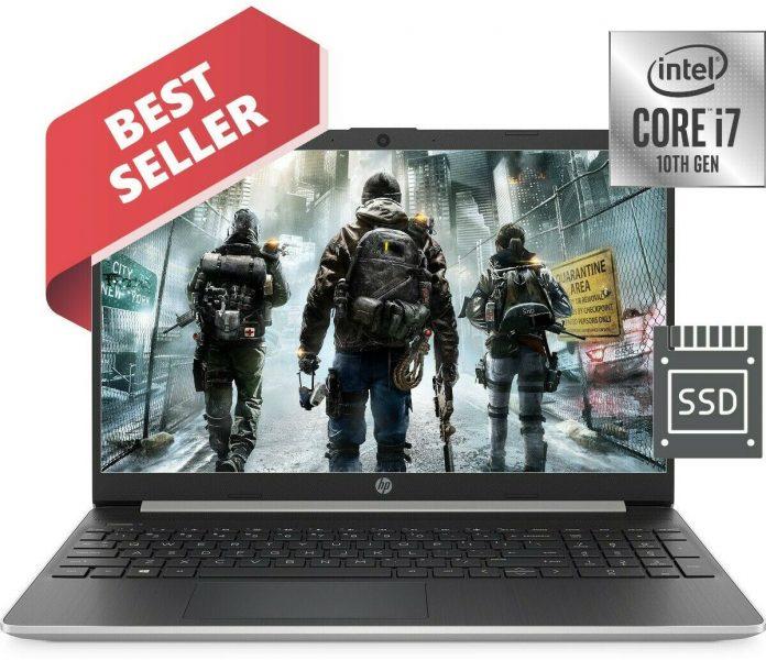 HP 10th Gen. Intel Core i7-1065 3.90GHz 24GB Memory 256GB SSD Drive 15.6″ Laptop
