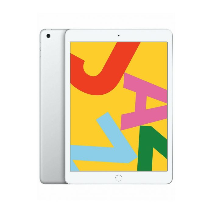 Apple iPad 10.2-Inch Tablet (Late 2019, 128GB, Wi-Fi Only, Silver)