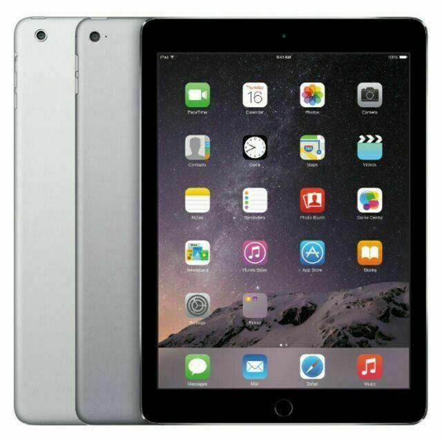 Apple iPad Air Wi-Fi + Cellular -16GB 32GB 64GB 128GB – Space Gray – Silver