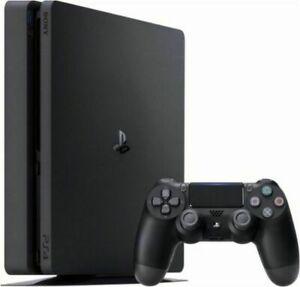 Sony PlayStation 4 Slim 1TB Console – Jet Black