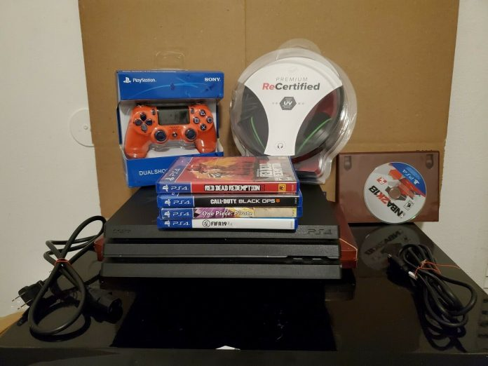 Sony PlayStation 4 Pro 1TB Console – Black