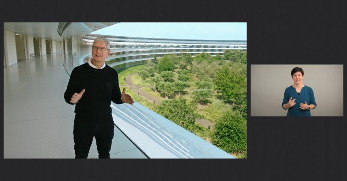 Apple posts ASL translation of its 'Time Flies' event