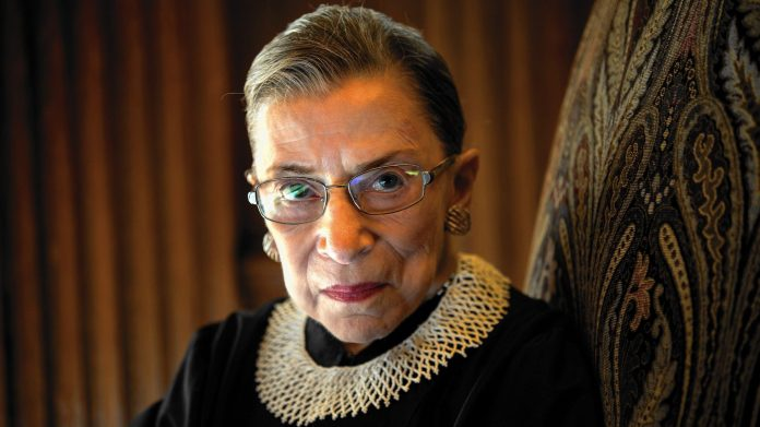 Ruth Bader Ginsburg, a feminist icon memorialized as the Notorious RBG