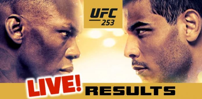 UFC 253: Adesanya vs. Costa Live Results