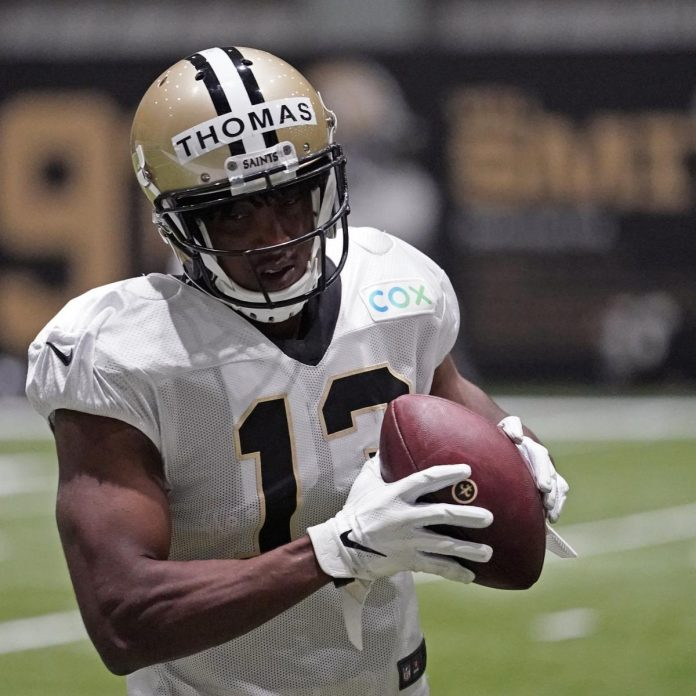 Report: Michael Thomas Won't Play for Saints vs. Chargers with Ankle Injury