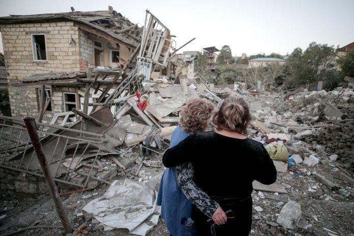"Armenia and Azerbaijan agree to ""humanitarian ceasefire"" in Nagorno-Karabakh"