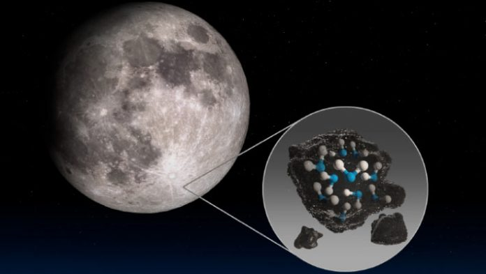 SOFIA Detects Molecular Water on Sunlit Surface of Moon